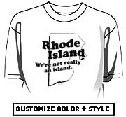 Rhode Island - We're not really an island