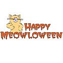 Happy Meowloween Cat