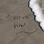 I Love You - Sand