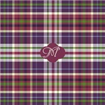 Vineyard Grape Plaid