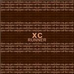 XC Runner Typographic brown