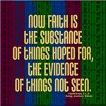 Stripes of Faith Hebrews 11:1