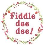 Fiddle Dee Dee with Wreath