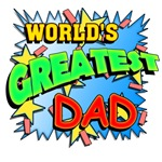 KaPow! World's Greatest Dad Comic Book Style