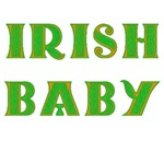 Irish Baby On Maternity or Baby Top