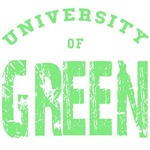 Univeristy of Green T-shirts and Gifts