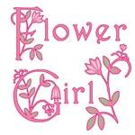Flowery Flower Girl T-shirt or Gift