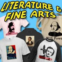 Literature, Poetry, Fine Art T-shirts and Gifts