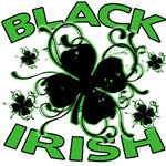 Black Irish Graphic T or Hoodie