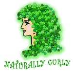 Naturally Curly Irish Girl