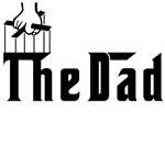 Fun The Dad in Godfather Font Gifts