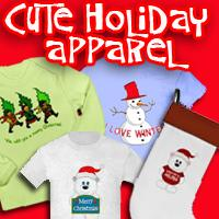 Cute Holiday Tshirts for All