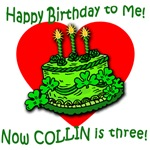 Customized for Colllin on His 3rd B'day
