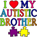 I Love My Autistic Brother Tshirts