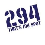 294 That's my spot