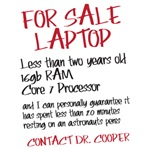For Sale Laptop