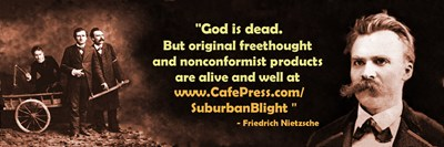 Nietzsche for Suburban Blight