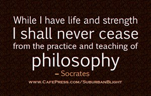 Socrates Practice of Philosophy