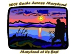 2007 Cache Across Maryland