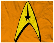 Star Trek Captain Badge Insignia