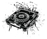 CDJ-1000 Graffiti