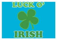 Luck O' Irish Clover
