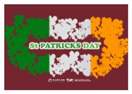 St Patrick's Day Reef Flag
