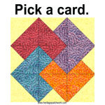 Quilter's Card Trick