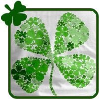 Infinite Luck Four Leaf Clover