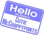 Blue - Hello Cutie McCrappypants