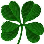 Luck of the Irish Four Leaf Clover