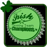 Irish Drinking Team Beer Bottle Cap