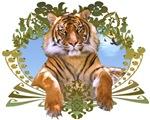 Siberian Tiger Art Crest
