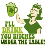 Drink You Under The Table T-shirts