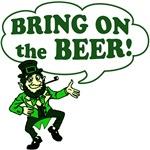 Bring On The BEER! Irish Tshirts