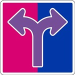 BI SEXUAL ROAD SIGN
