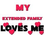 My EXTENDED FAMILY Loves Me