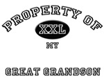 Property of my GREAT GRANDSON
