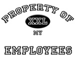 Property of my EMPLOYEES