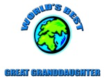 World's Best GREAT GRANDDAUGHTER