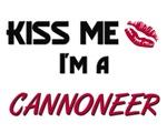 Kiss Me I'm a CANNONEER