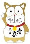 Maneki Neko gold - Japanese Lucky Cat