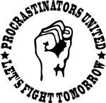 Procrastinators united