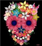 Skull Flowers by WAM