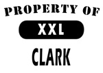 Property of Clark NJ T-shirts