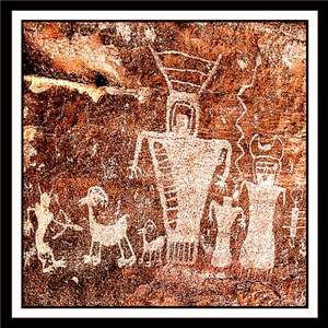 ANCIENT ANIMALS/CAVE PAINTINGS/ROCK ART