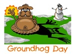GROUNDHOG DAY: PHIL'S SCARY SHADOW