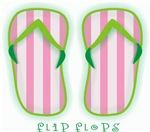 Flip Flops | Strange Beach Bum T-shirts & Swimmer Gifts
