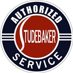 Studebaker Authorized Service sign