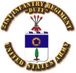 COA - Infantry - 21st Infantry Regiment